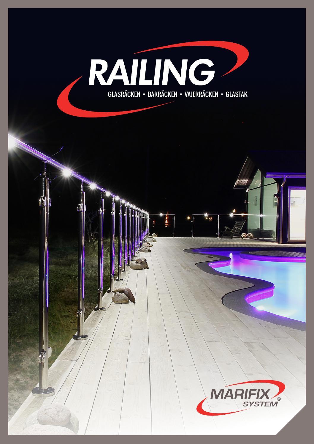 Marifix railing by marifix ab   issuu