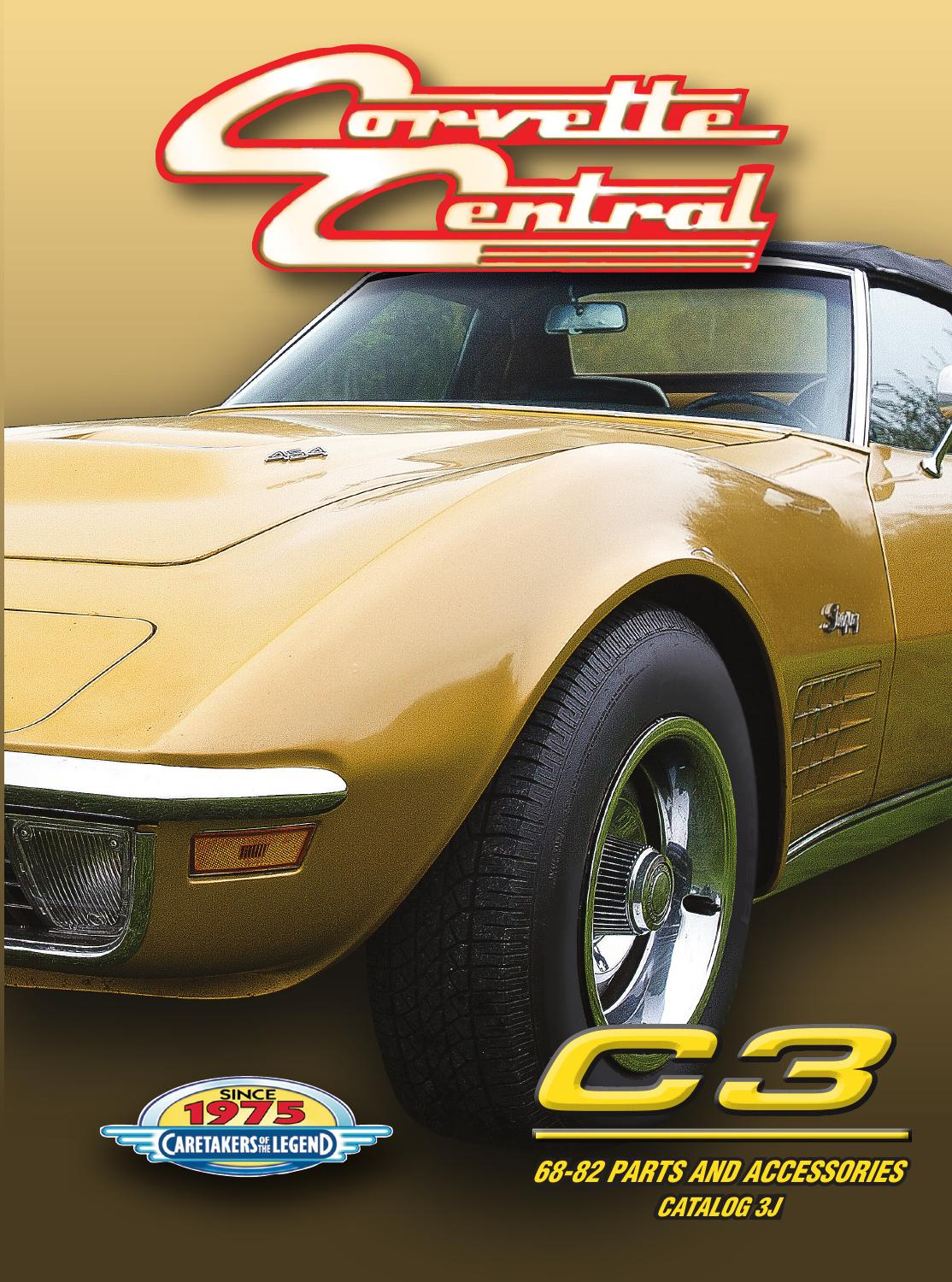 What products does Corvette Central sell?