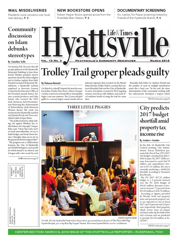 March 2016 Hyattsville Life & Times by Hyattsville Life ...