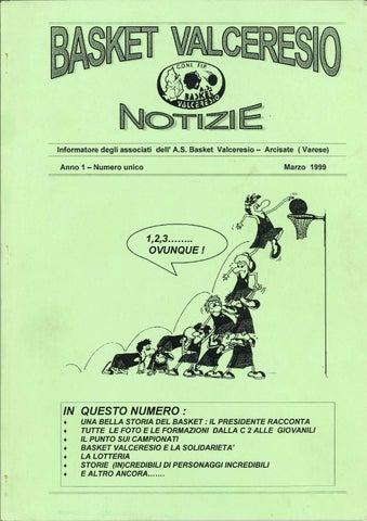Basket Valceresio Notizie 1999