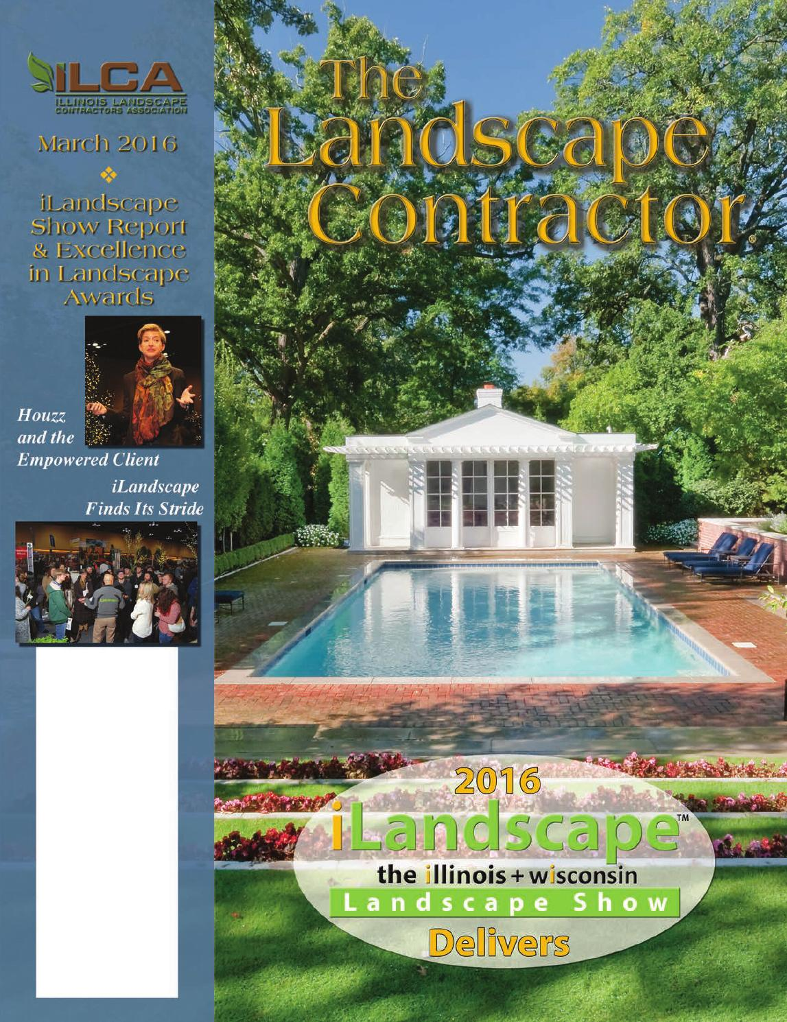 The Landscape Contractor Magazine March 2016 By Association