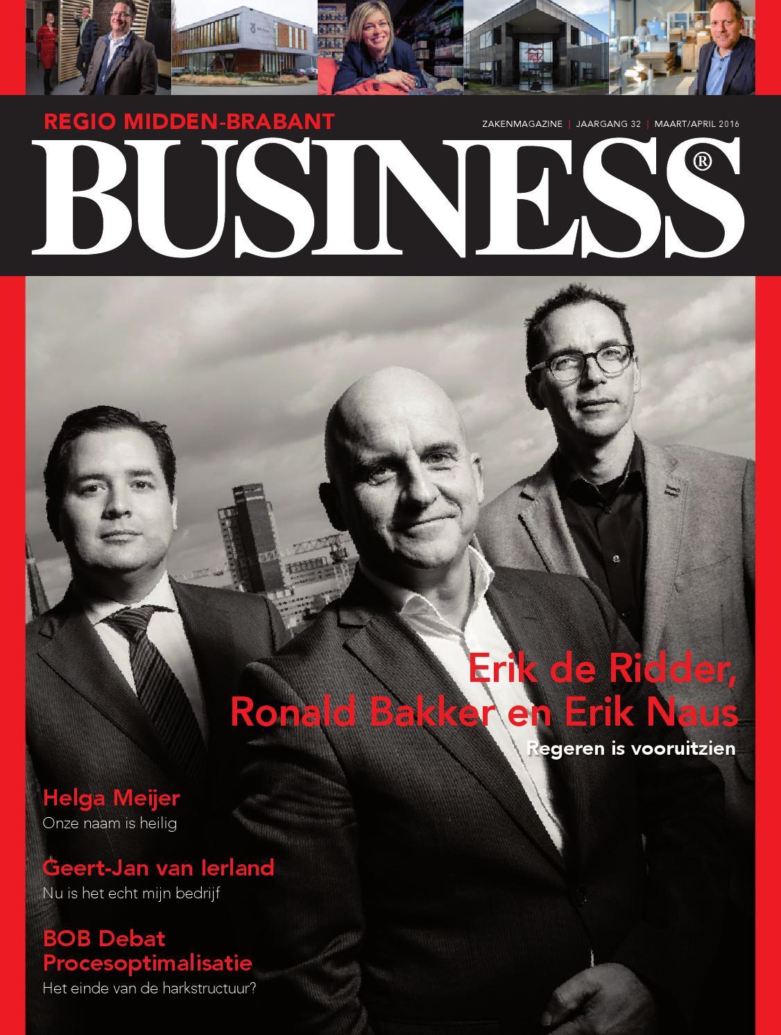 Regio Business Noordoost-Brabant sept/okt 2015 by Regio Business ...