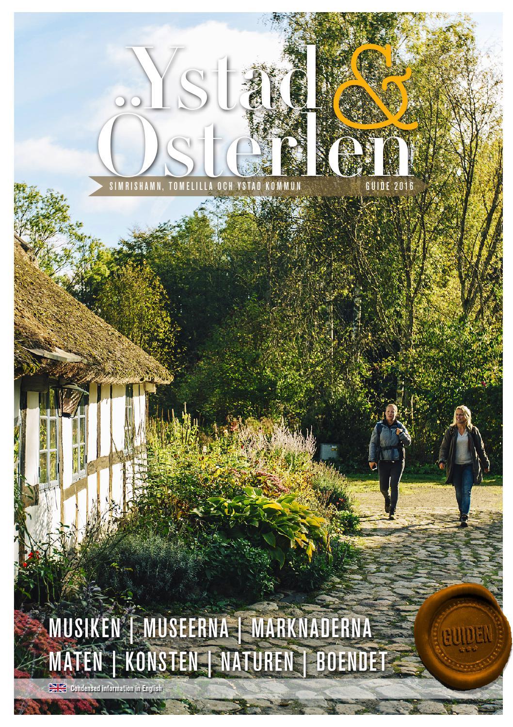 Ystad & Österlen Guide och inspiration 2013 / Svenska by Arkivbild ...