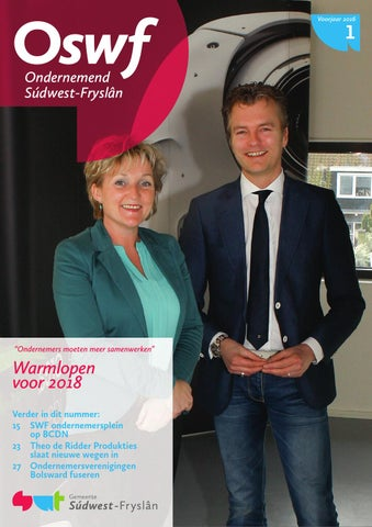 Ondernemend Súdwest-Fryslân maart 2016