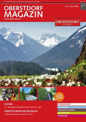 Oberstdorf Magazin 04/2016