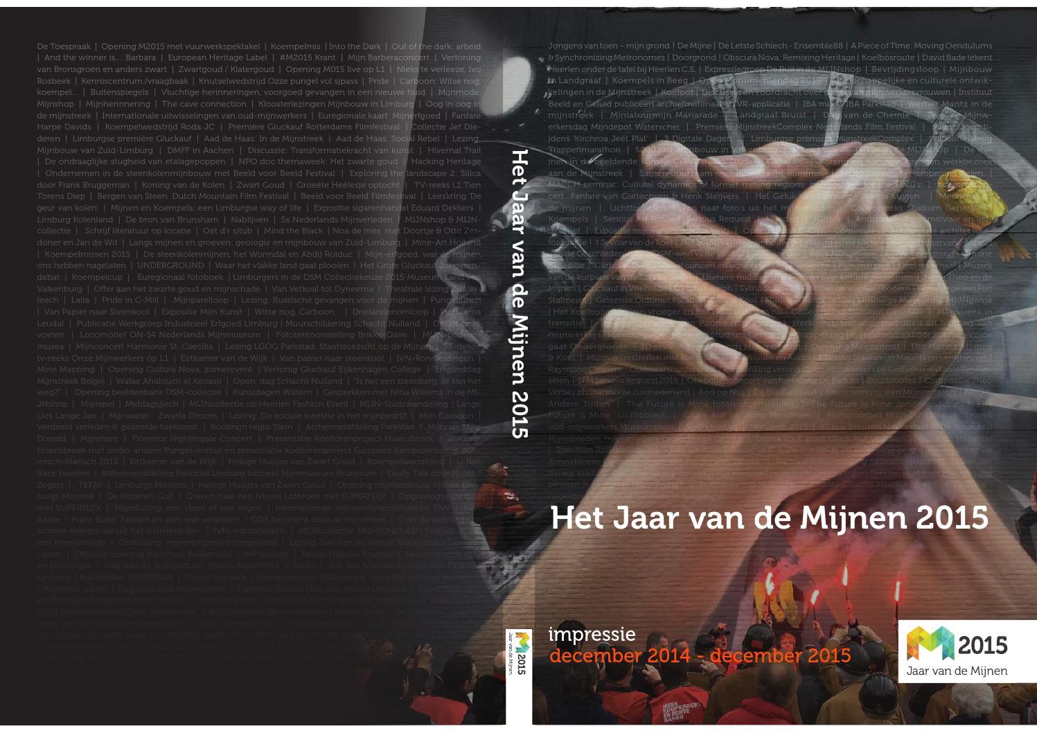 Jaar van de Mijnen 2015 (M2015) by Jaar van de Mijnen 2015 (M2015 ...