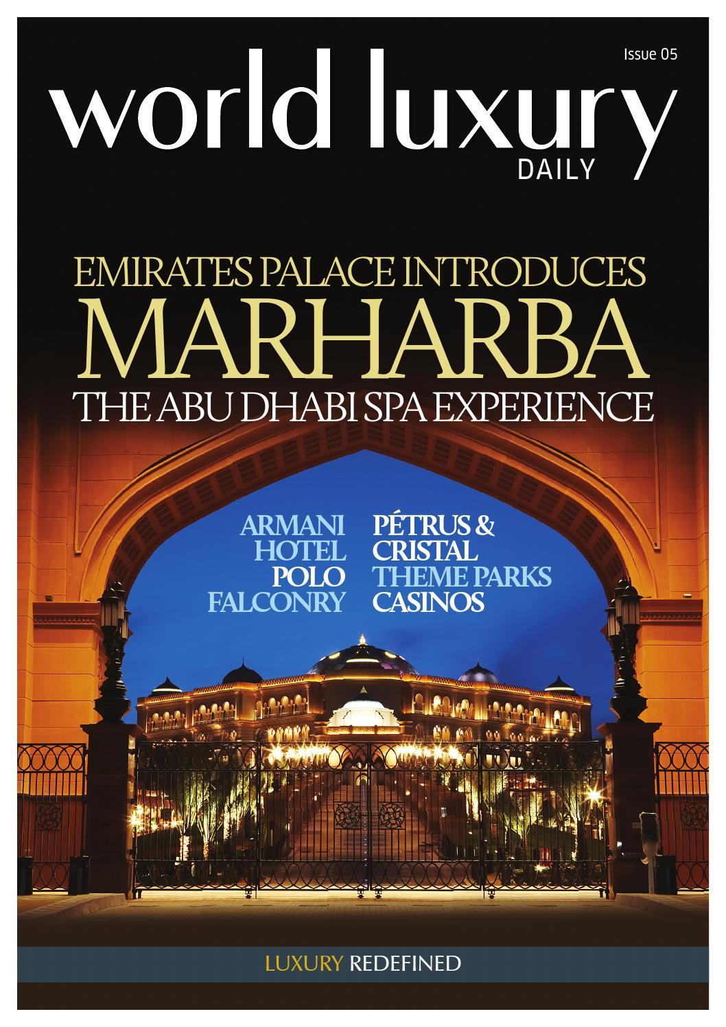 World luxury daily - Magazine cover