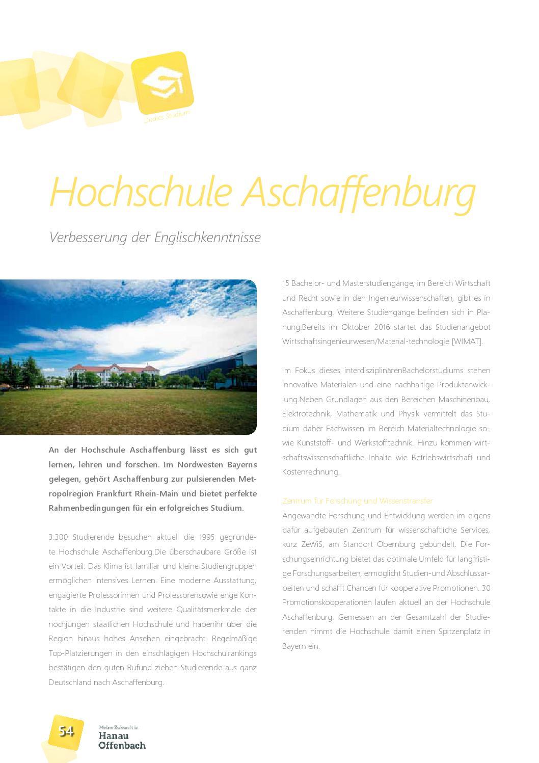 Meine zukunft in hanau offenbach 2016 das for Maschinenbau offenbach
