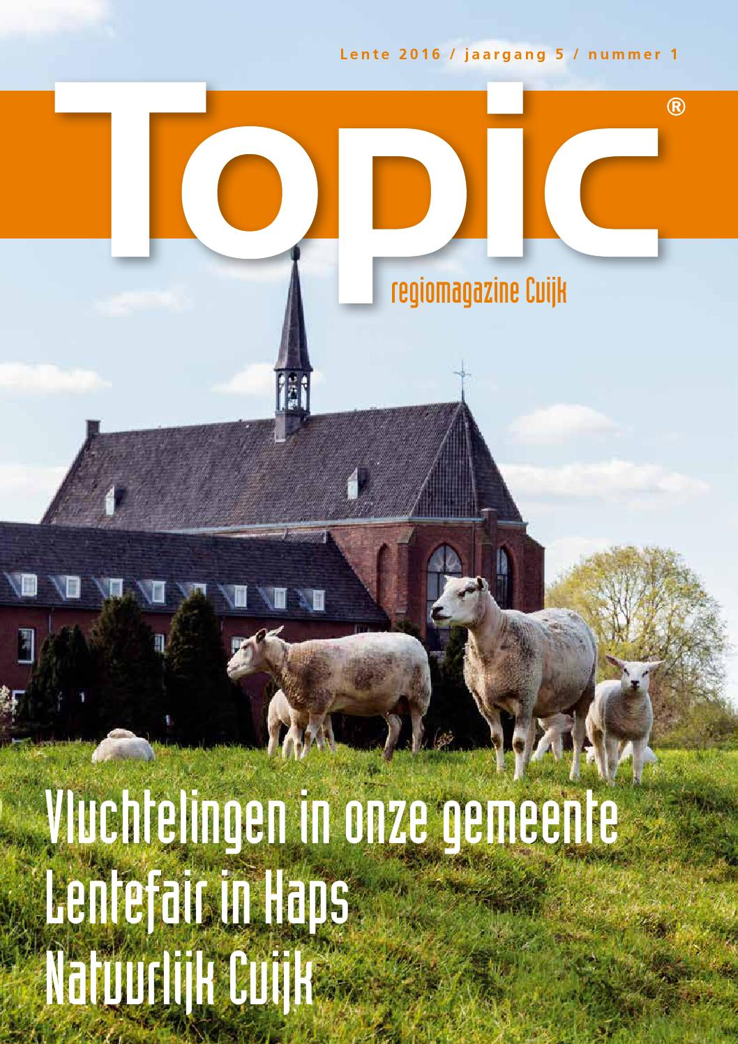 Topic Cuijk Lente 2016 by Remi van Bergen - issuu