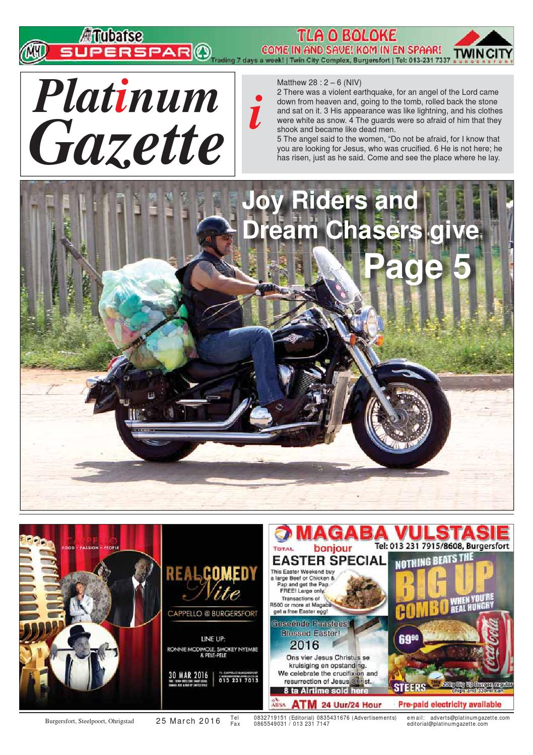 Platinum gazette 24 june 2016 by platinum gazette   issuu