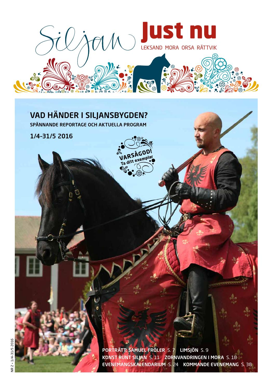 Siljan just nu 1 2016 by siljan turism   issuu
