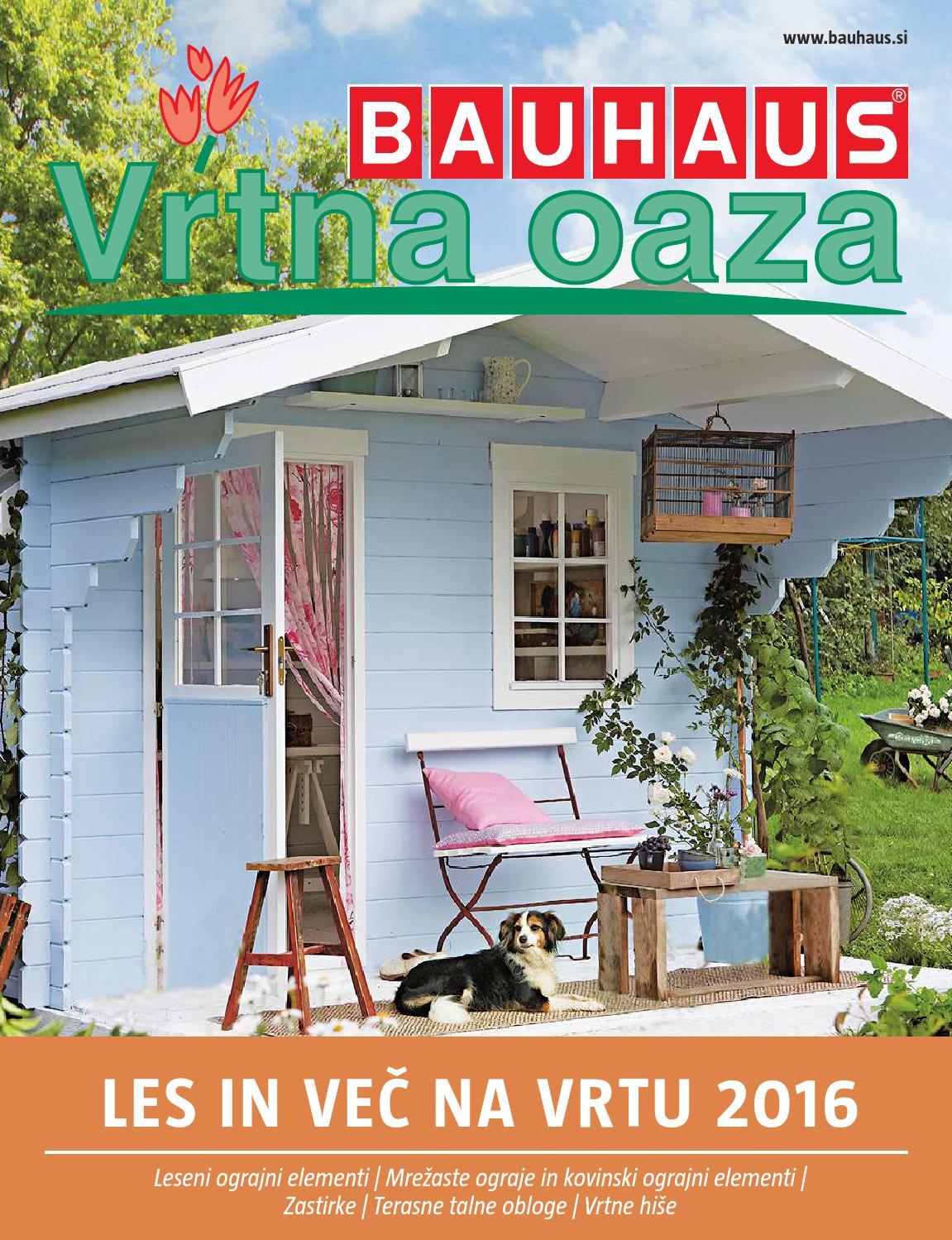 bauhaus katalog les in ve na vrtu by issuu. Black Bedroom Furniture Sets. Home Design Ideas