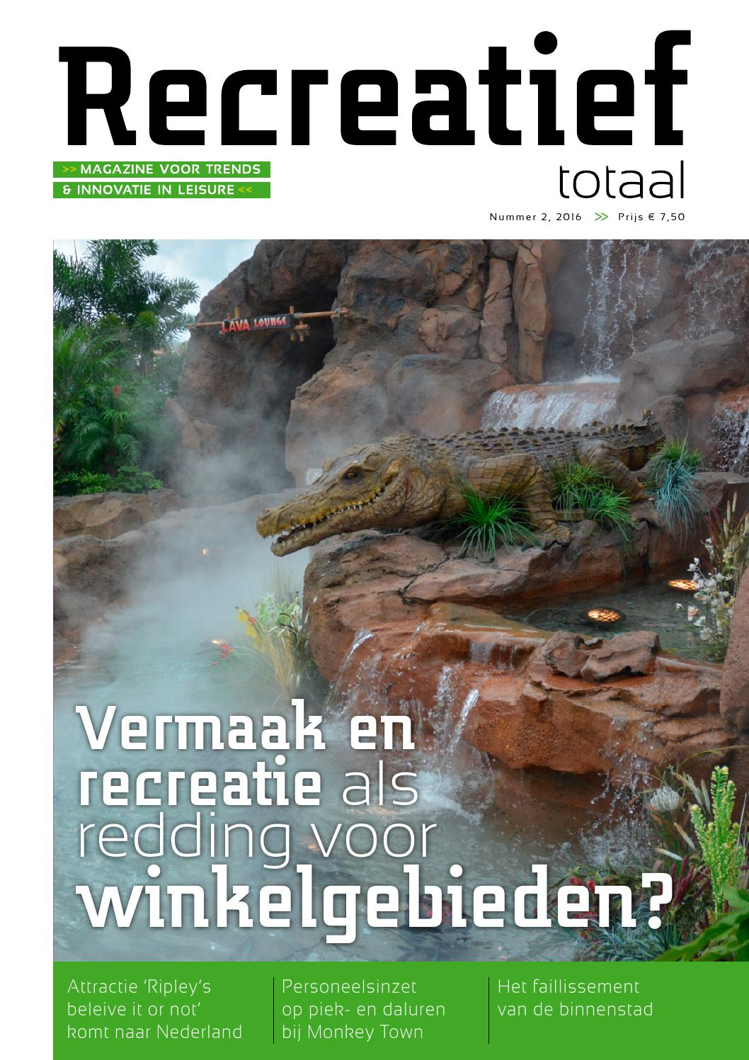 Recreatief totaal 0515, magazine voor trends en innovatie in ...