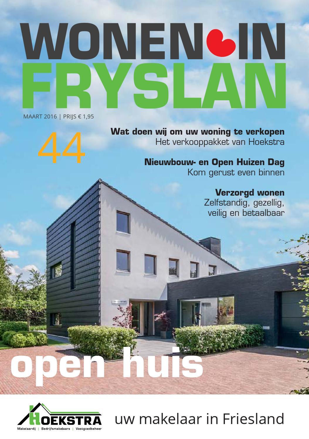 Wonen in Fryslân 44 by Titia Haagsma - issuu