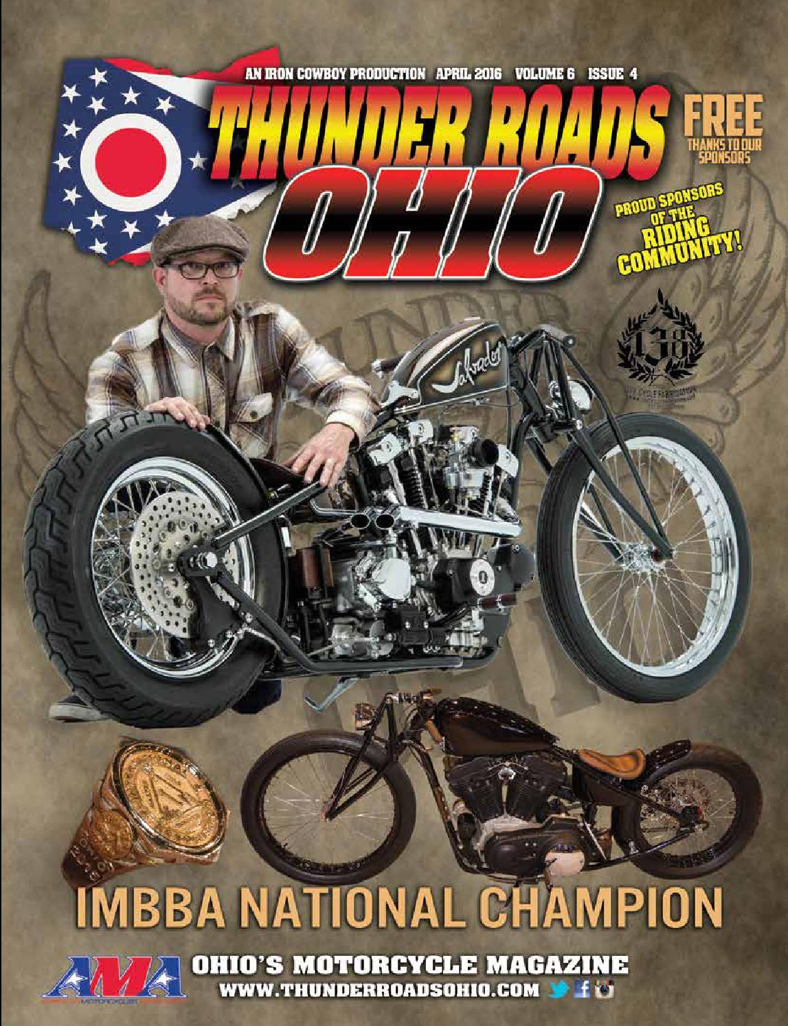 thunder roads ohio by thunder roads ohio magazine issuu thunder roads ohio 2016