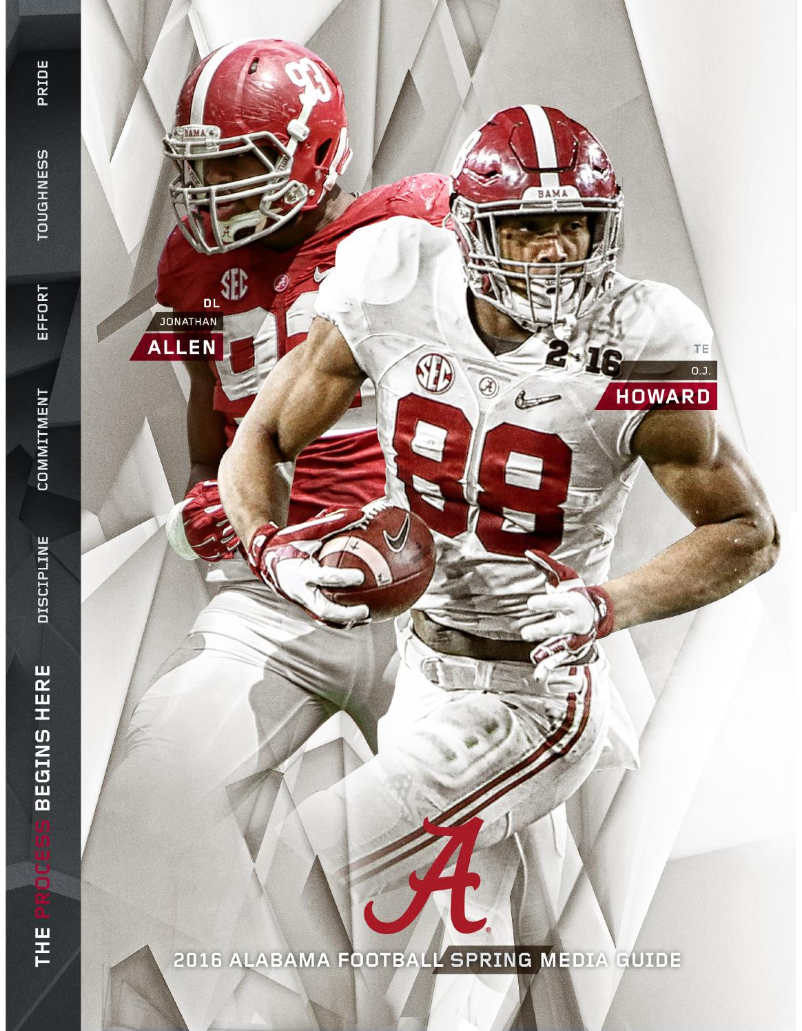 2014 Alabama Football Media Guide by Alabama Crimson Tide - issuu