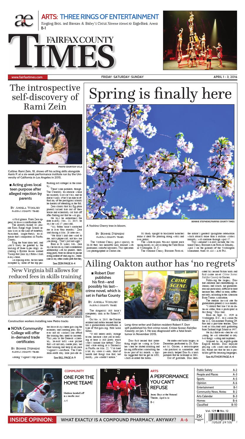 Fairfax County Times 04-01-16 Edition by The Fairfax Times ...