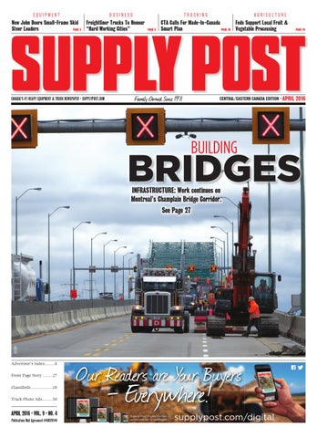 Supply Post Eastern Cover - April 2016