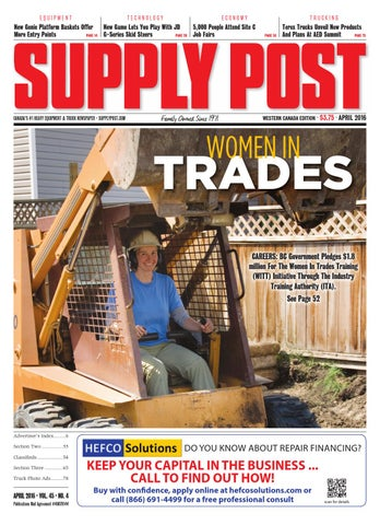 Supply Post Western Cover - April 2016