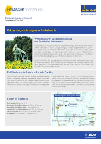 Wintershall Factsheet Suderbruch