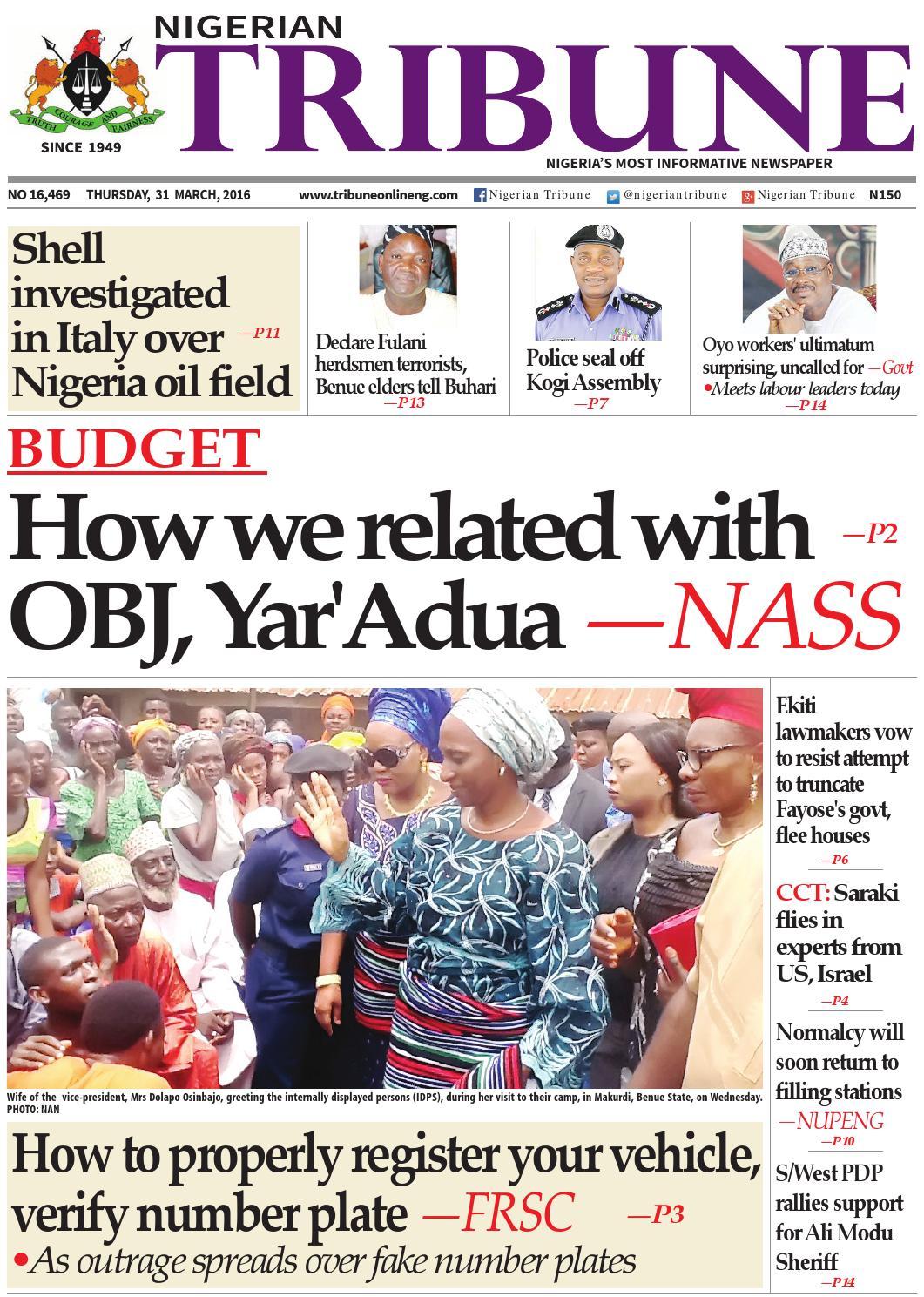 Nigerian Newspapers Headlines (29th July, 2019) - Market