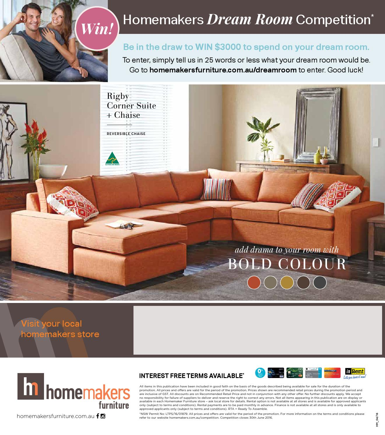 Homemakers Furniture Autumn Collection Catalogue By