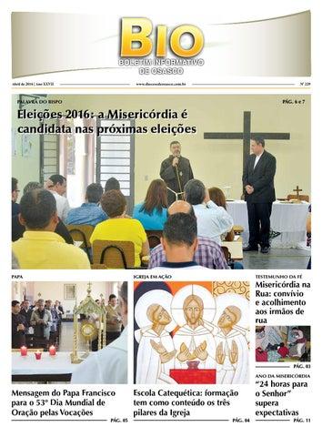 [BIO Diocesano – Abril 2016]