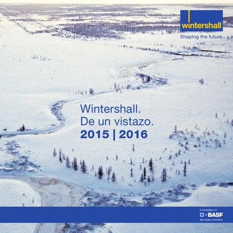 Wintershall De un vistazo 2016 (Spanish version)