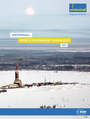 Wintershall Annual Report 2016 (English version)