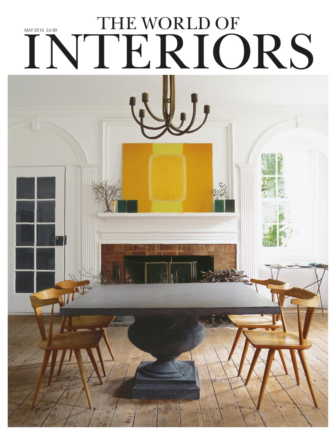 the world of interiors may 2016 by cond nast digital issuu