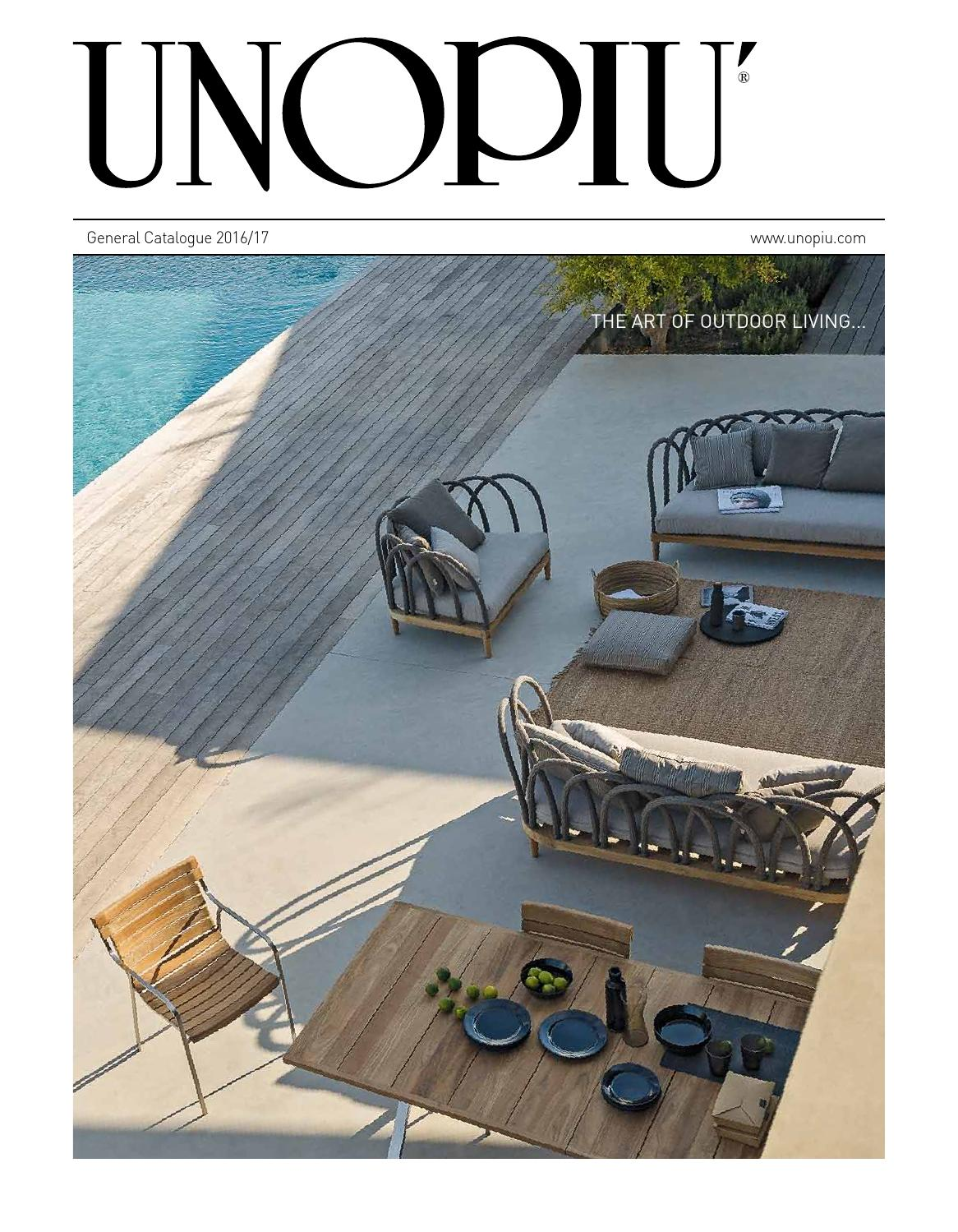 Unopi general catalogue 2016 by unopi spa issuu for Table exterieur unopiu