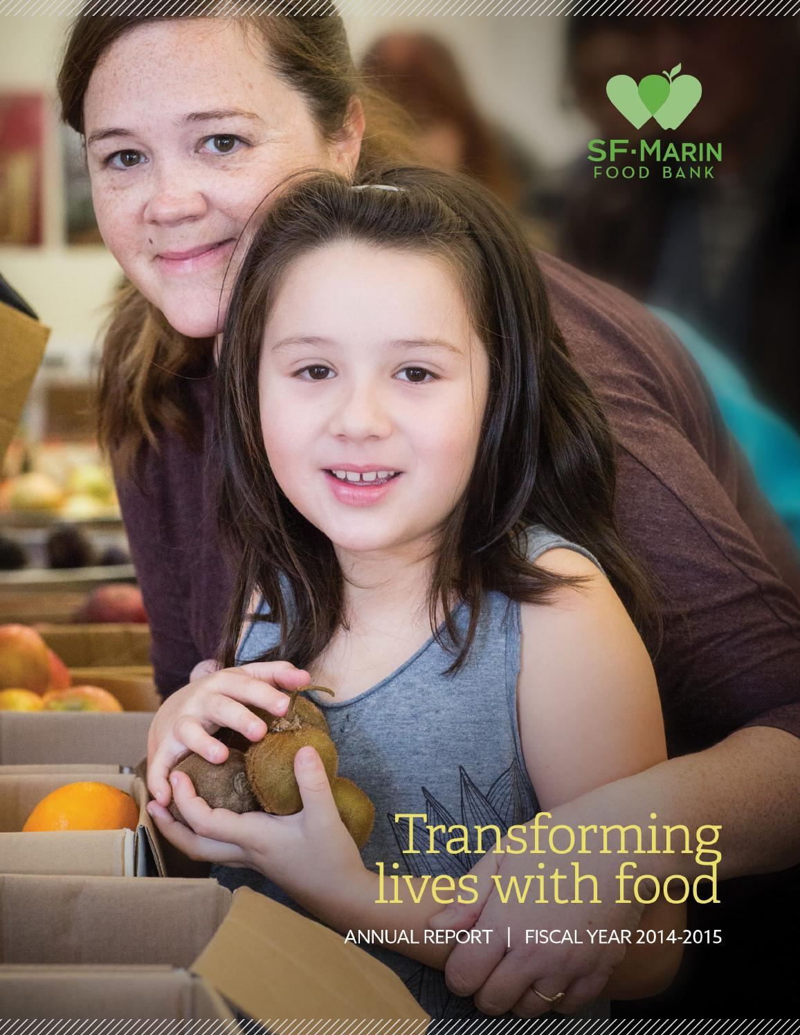 SF-Marin Food Bank Annual Repot FY2014-15 by SF-Marin Food ...