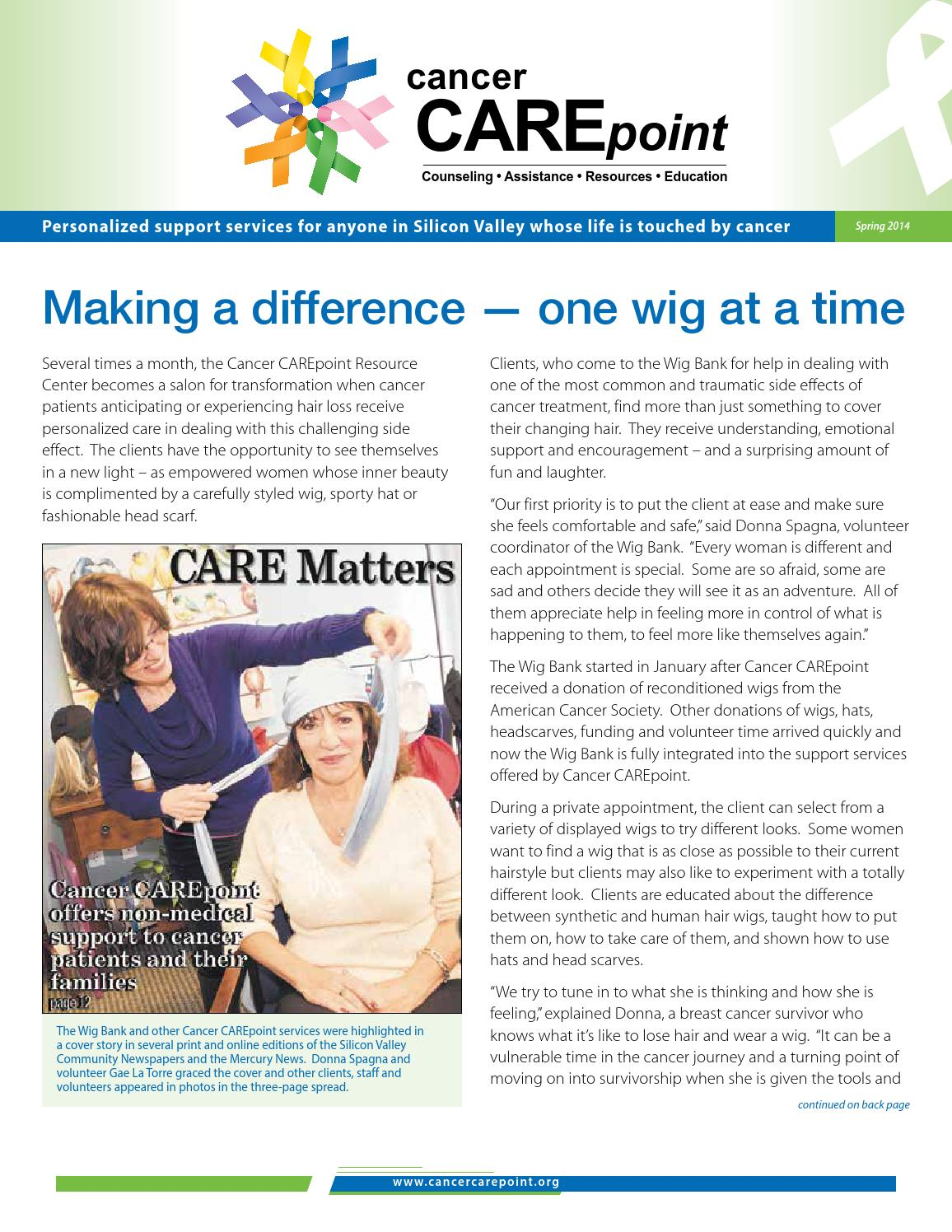 ccpspring by cancer carepoint issuu