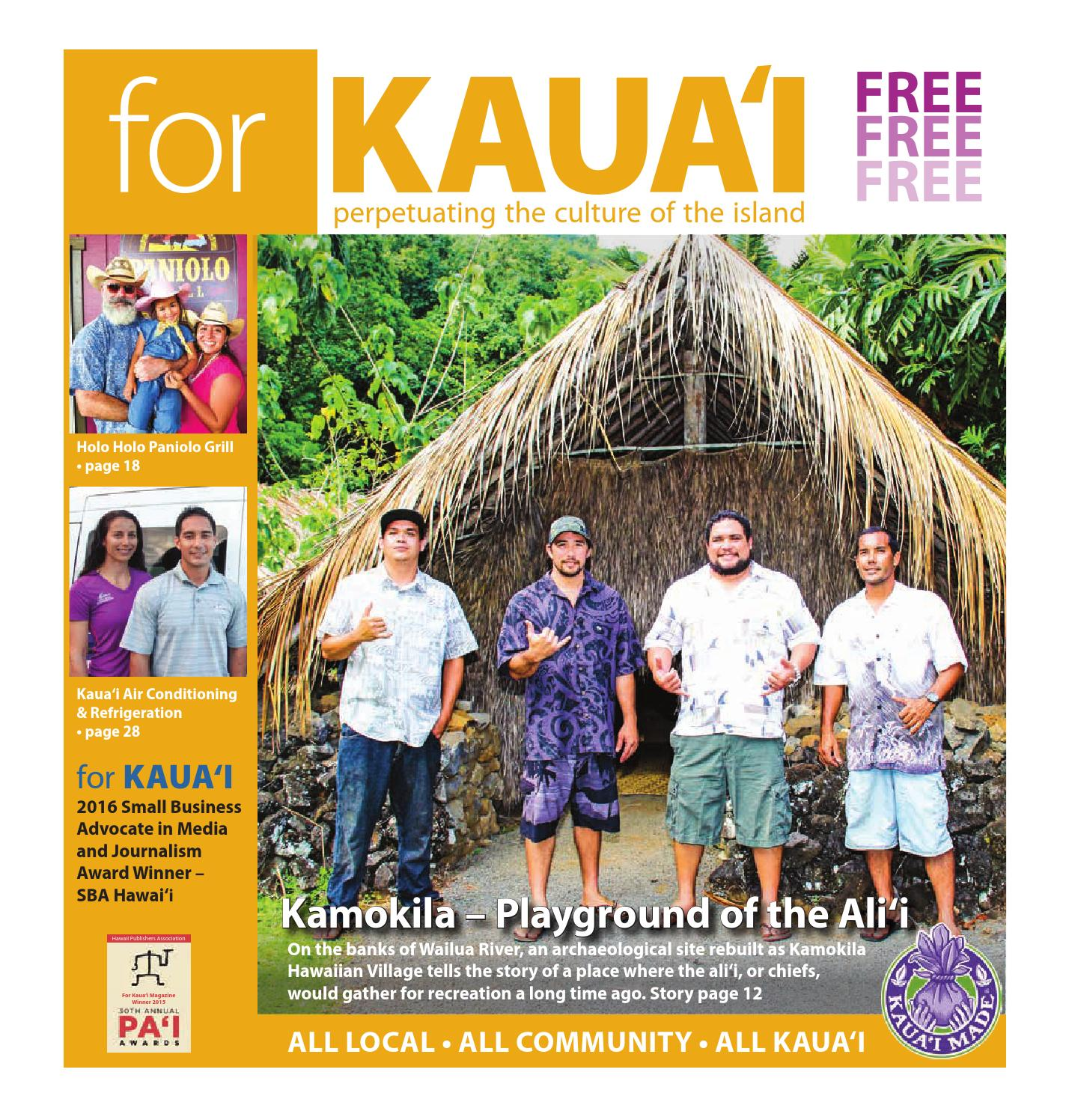 ^ For Kauai November, 2014 by For Kauai - issuu