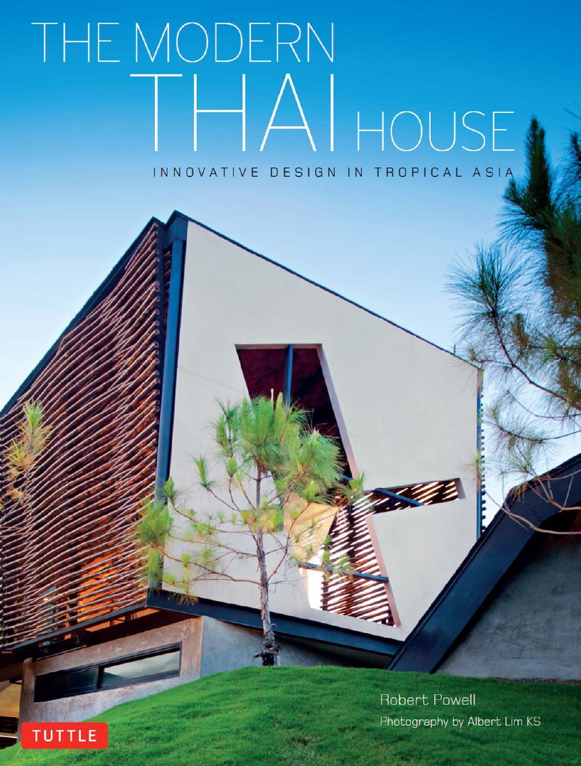 The Modern Thai House By Pavel Vuchev Issuu