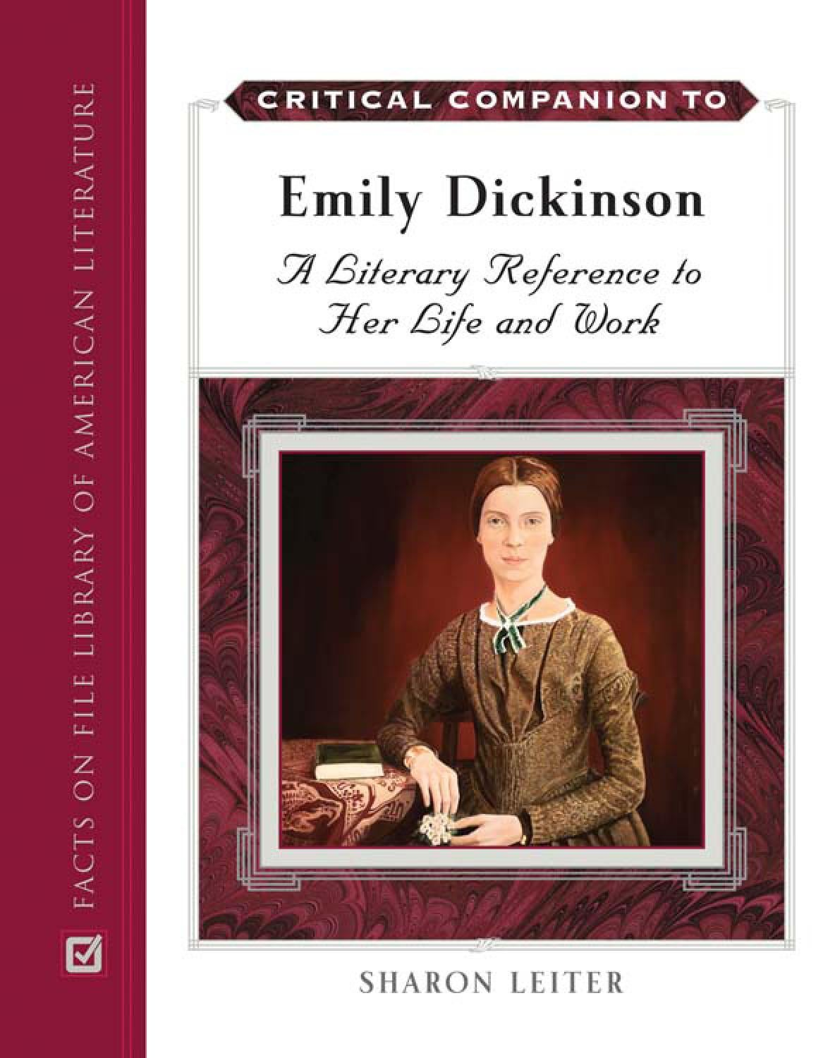 emily dickinson critical companion by kosmic bluez issuu