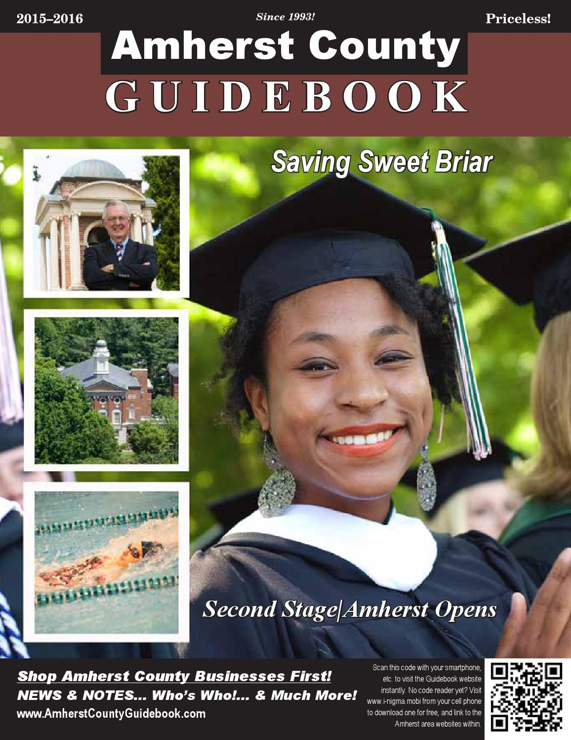 amherst county guidebook by dan curran issuu amherst guidebook 2015