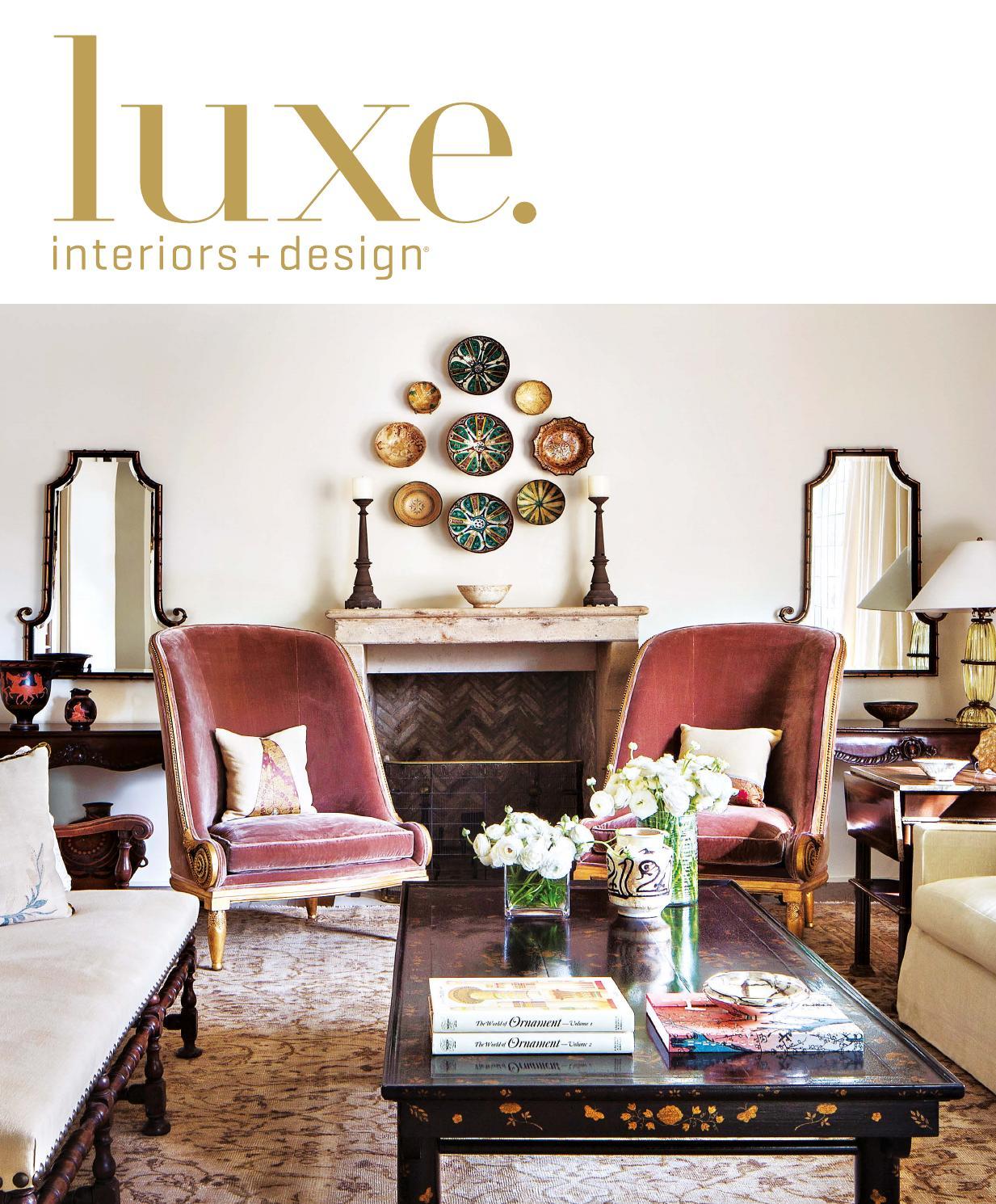 Luxe Magazine May 2016 National By Sandow Media Llc Issuu