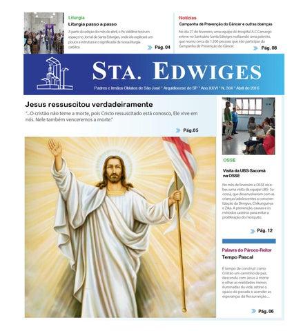 [Jornal Sta Edwiges (Abril/2016)]