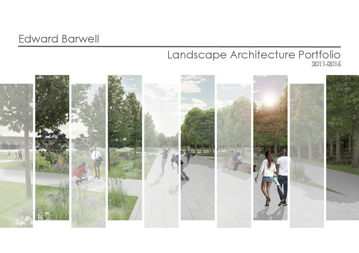 landscape architecture portfolio du xinli landscape architecture