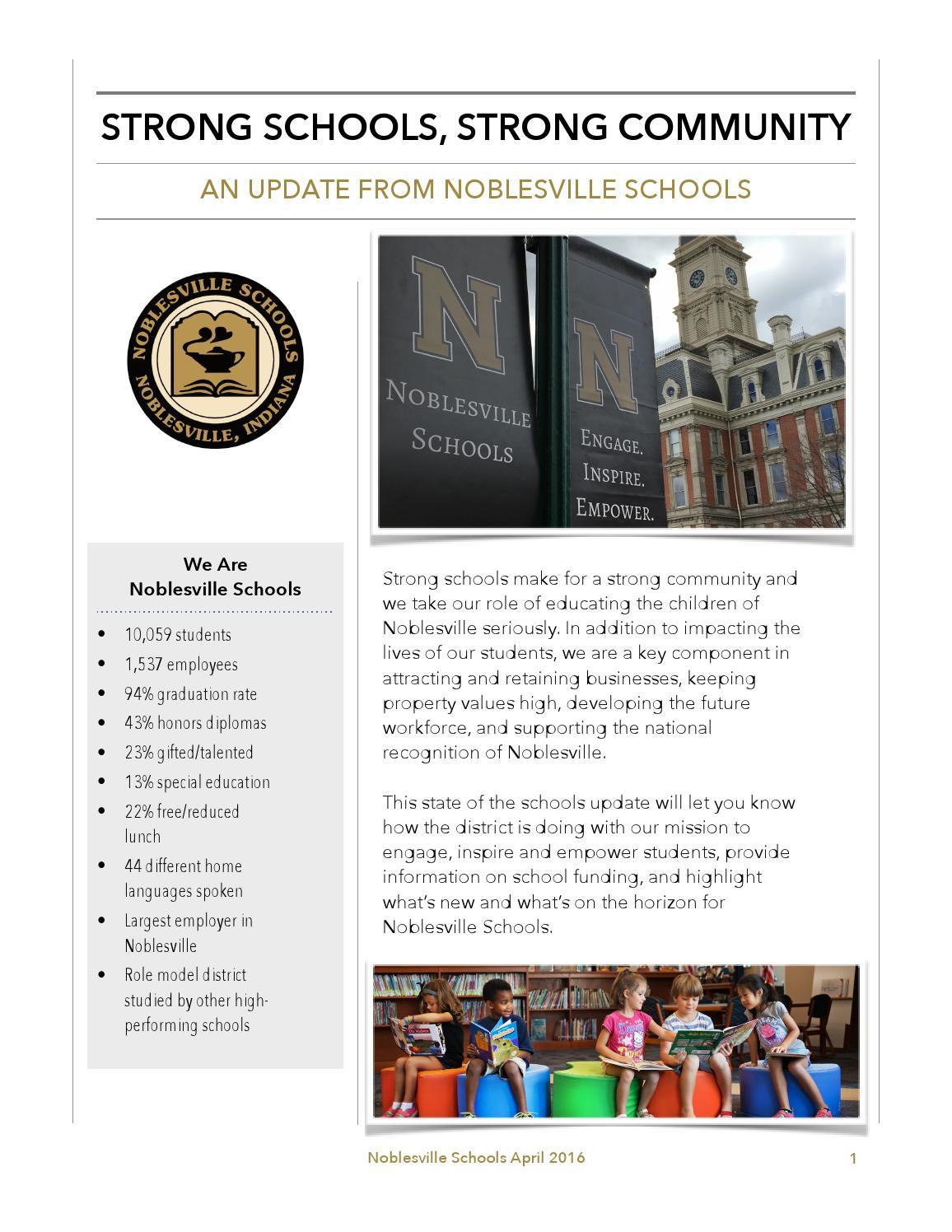 Noblesville Schools Food Menu