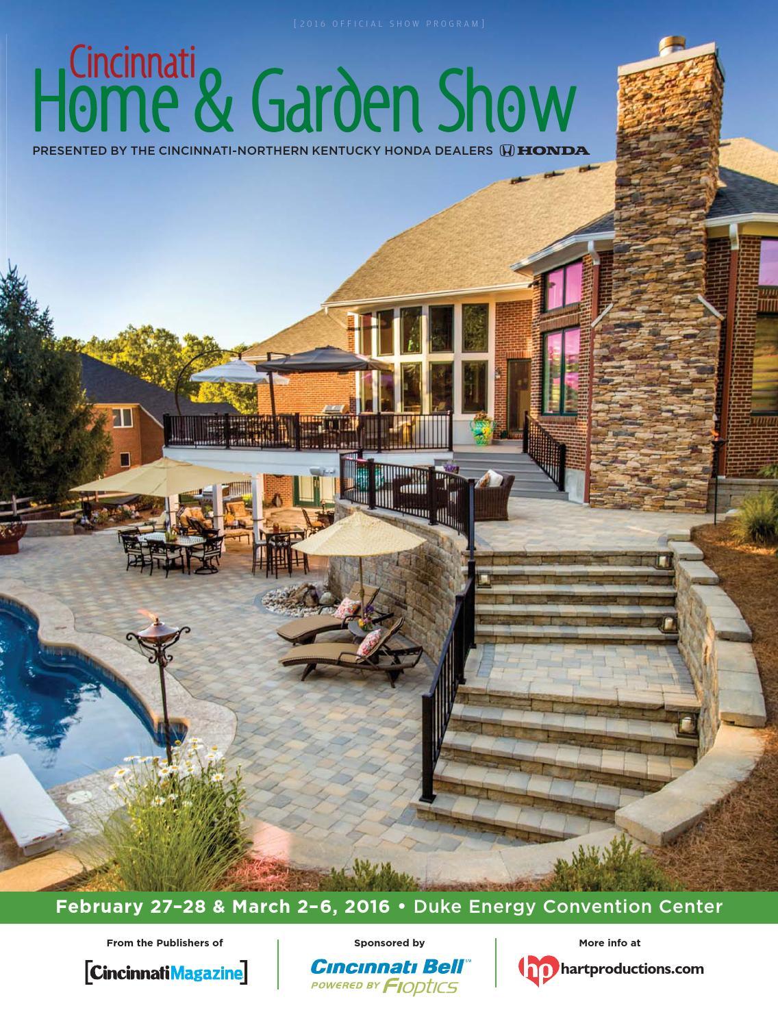 Cincinnati Home Garden Show 2016 By Cincinnati Magazine Issuu