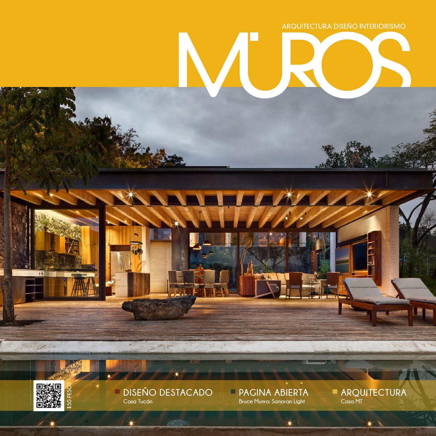 Edici n 22 revista muros arquitectura dise o for Revista habitat arquitectura diseno interiorismo