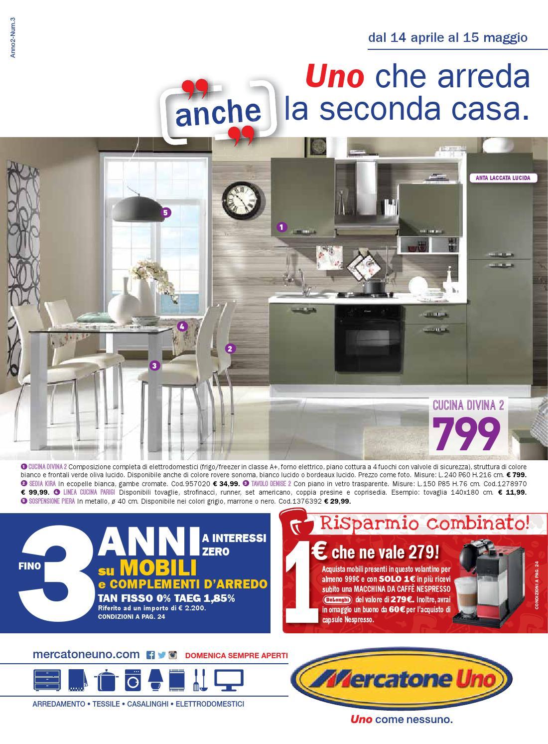 Mercatoneuno 15mag by volavolantino issuu - Mercatone uno cucine offerte ...