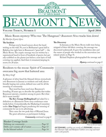Beaumont News March 2016
