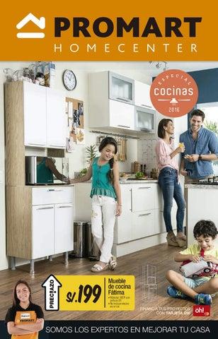 Cat logos construcci n decoraci n muebles promart for Muebles de cocina homecenter