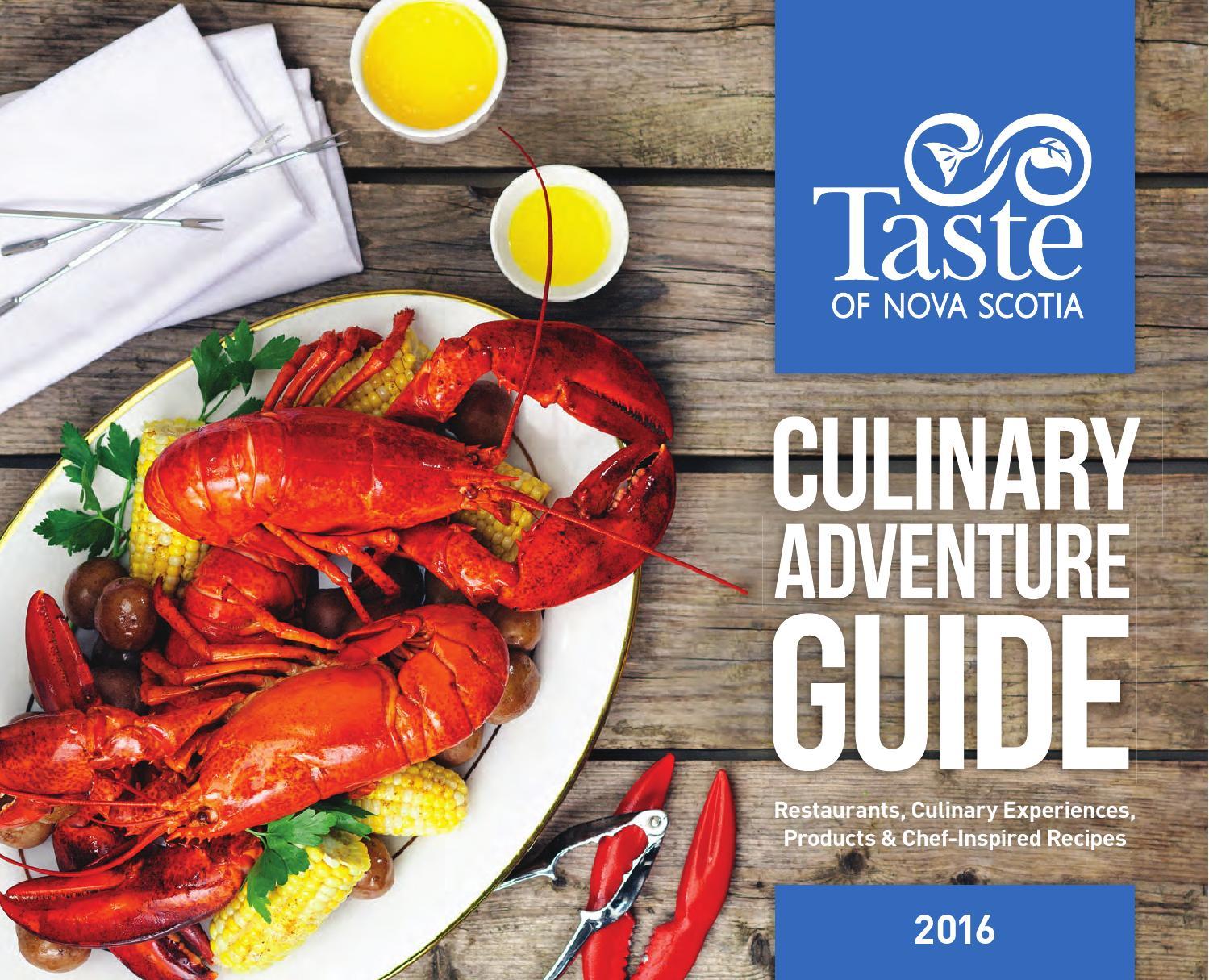 Red Lobster Lincoln Ne 2016 Taste Of Nova Scotia Culinary Adventure Guide By Taste Of