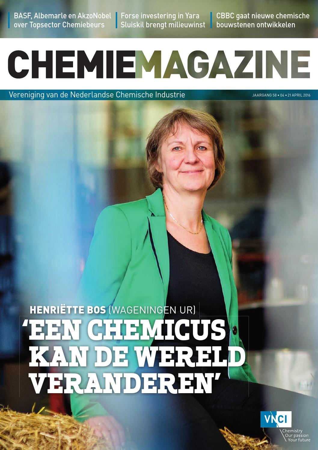 Chemie magazine   juni 2016 by vnci   issuu