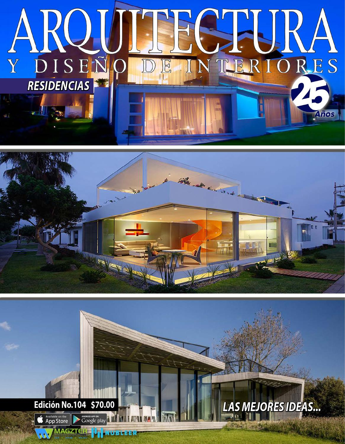 Arquitectura y dise o de interiores 104 by arquitectura y - Diseno y arquitectura de interiores ...