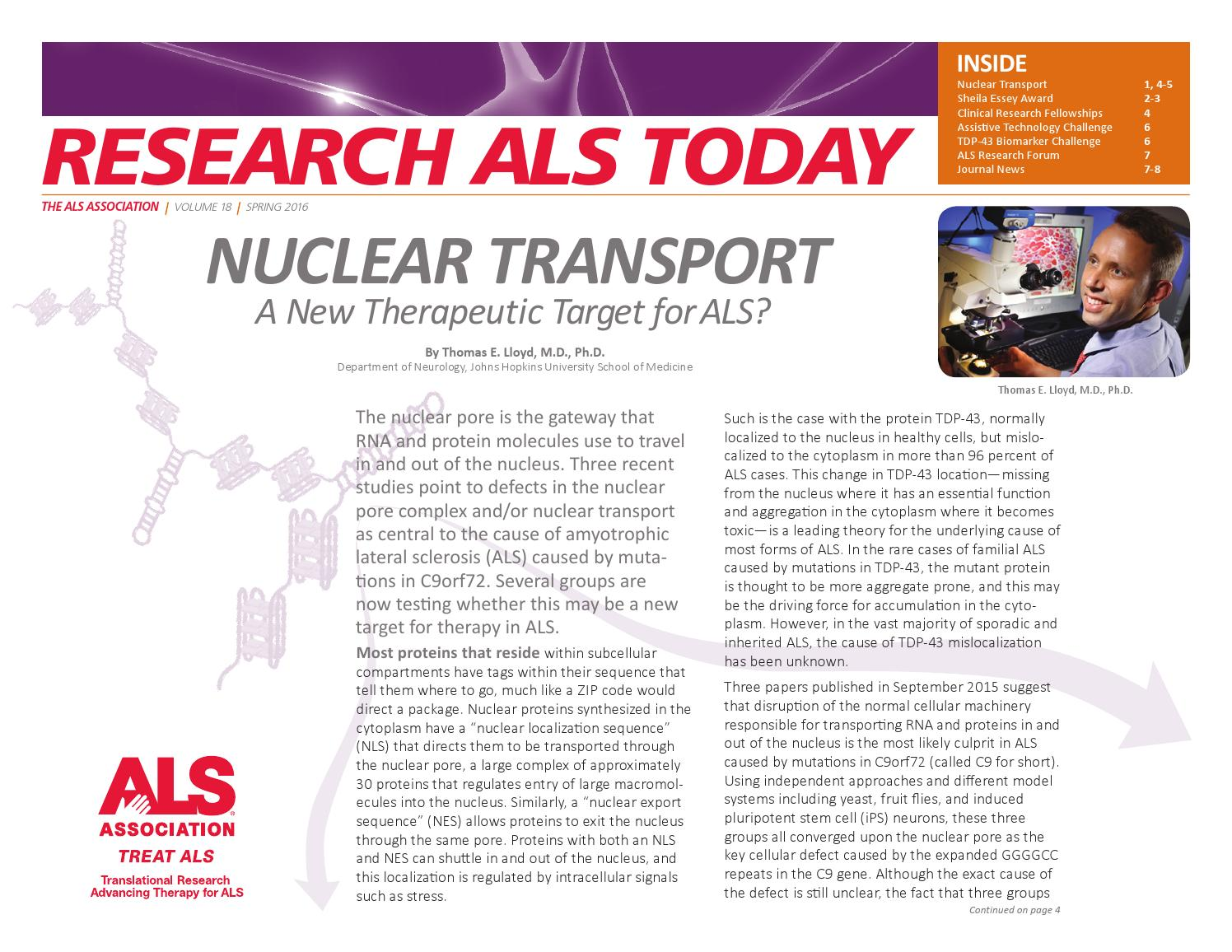 Als foundation animal research report